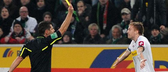 Gelb für Marco Reus.
