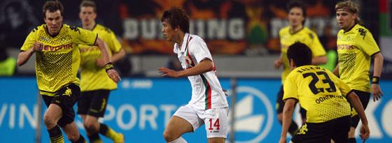 Stark bedrängt, aber gut gewehrt: Die Augsburger trotzten dem Meister aus Dortmund ein Remis ab.