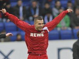 Vor dem Abflug beim FC: Lukas Podolski.