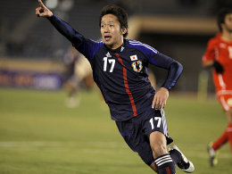 Jubelt künftig für den Club: Hiroshi Kiyotake.