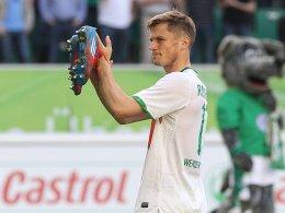 Am 1. Juli nicht mehr Profi des SV Werder: Markus Rosenberg.