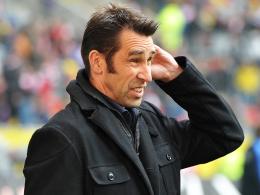 Es stehen turbulente Tage an: Hertha-Manager Michael Preetz.