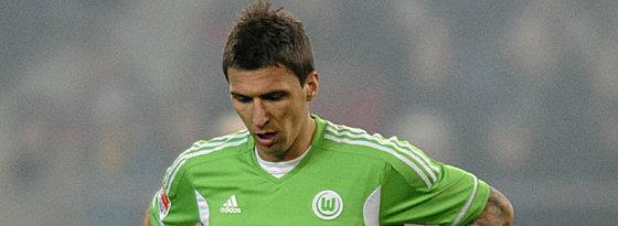 Keine Zukunft in Wolfsburg: Mario Mandzukic.