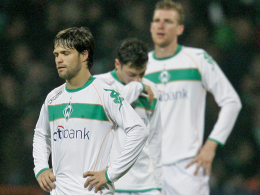 Diego, Mesut Özil und Per Mertesacker