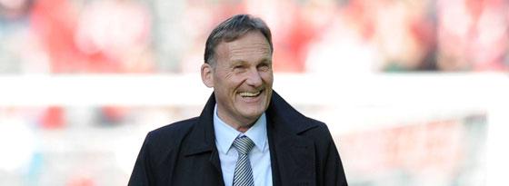 BVB-Boss Hans-Joachim Watzke will in der kommenden Saison international erfolgreicher auftreten.