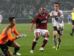 Seine Europa-Reise führt ihn nun nach Nürnberg: Marcos Antonio, hier in der Europa League gegen Legia Warschau.