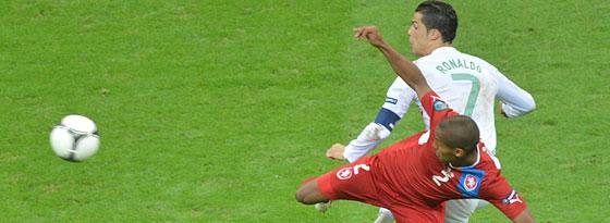 Theodor Gebre Selassie gegen Cristiano Ronaldo