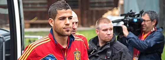 Den Sprung in den EM-Kader Spaniens schaffte er nicht, doch mit der Borussia darf Alvaro Dominguez in der neuen Saison in der Champions League spielen.