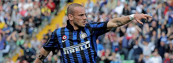 Der nächste Topstar für die russische Liga? Wesley Sneijder hat wohl Begehrlichkeiten bei Anschi geweckt.
