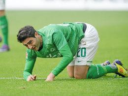 Mehmet Ekici kommt in Bremen nicht richtig auf die Füße.