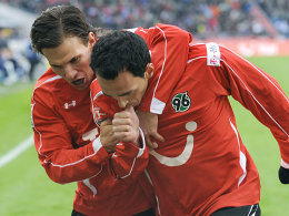 Szabolcs Huszti und Sergio Pinto (re.)