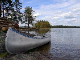 Wunderschöne Landschaften erwarten den HSV-Tross in Schweden - Handyfotos sind allerdings nicht drin.