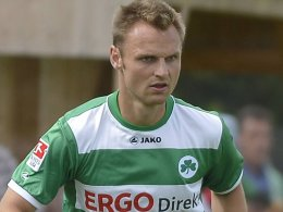Siegtor per Elfmeter: Fürths Bernd Nehrig.