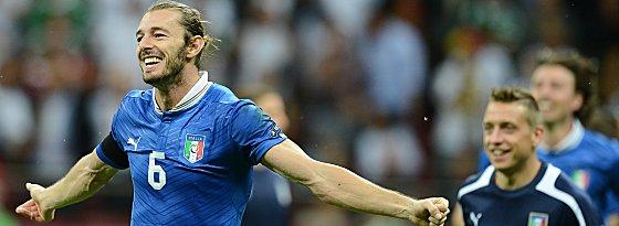 Mit Italien Vize-Europameister, fortan Roma-Profi: Federico Balzaretti.