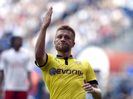 Jakub Blaszczykowski nach seinem 1:0 gegen den HSV