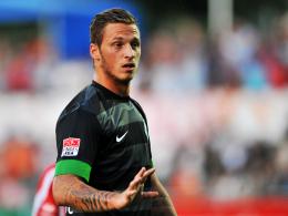 Zwangspause: Werder-Stürmer Marko Arnautovic zog sich eine Oberschenkelzerrung zu.