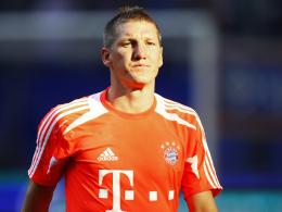 Rückt er gegen Dortmund noch in den Kader? Bayerns Mittelfeldstratege Bastian Schweinsteiger.