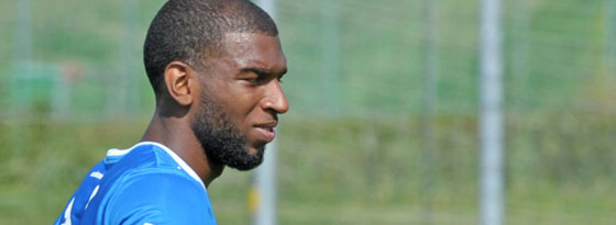 Ryan Babel beim TSG-Training