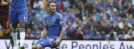 Wohin führt sein Weg? Frank Lampard muss weiter auf Gespräche mit Chelsea warten.