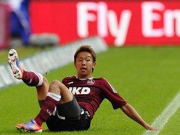 Europapokal und die WM 2014: Nürnbergs Japaner Hiroshi Kiyotake hat zwei große Ziele.