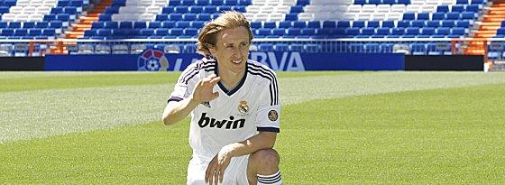 Heiß auf den ersten Clasico: Luka Modric.