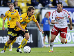 Schon für Lilleström am Ball: Henning Hauger.