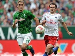 Nils Petersen gegen Milan Badelj