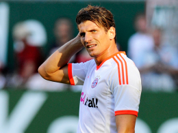Schmerzfrei: Bayern-Angreifer Mario Gomez arbeitet am Comeback.