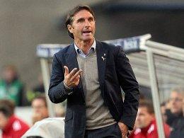 Wundert sich nicht, dass der VfB alle Paar Monate einen neuen Trainer hat: Bruno Labbadia.