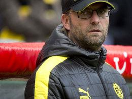 Jürgen Klopp war nach dem Spiel in Hannover angefressen.