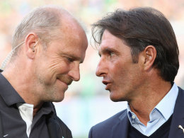 Thomas Schaaf und Bruno Labbadia