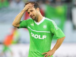 Ruft das Schreckensjahr 2011 in Erinnerung: Wolfsburgs Spielmacher Diego.