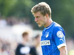 Geldstrafe: Hoffenheims Sven Schipplock ist im Training handgreiflich geworden.