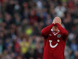 Ordentlich aufgestellt, aber dennoch verloren. Hannover 96.