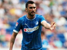 Pechvogel: Hoffenheims Neuzugang Chris erlitt erneut einen Muskelfaserriss.
