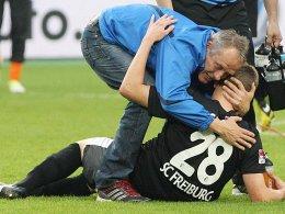 Muss Matthias Ginter bis Samstag wieder aufrichten: SC-Trainer Christian Streich.