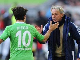 Diego mit Lorenz-Günther Köstner
