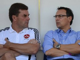 Dieter Hecking und Martin Bader