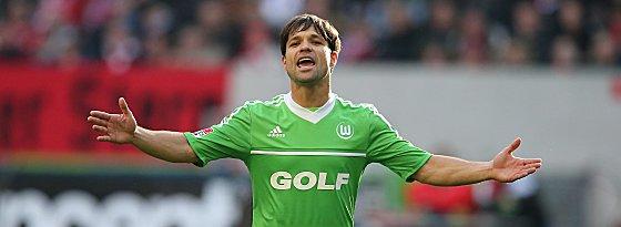 Gibt den Ton in Wolfsburg an: Diego.