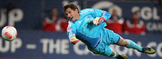 Auf dem Sprung zurück zur Nationalelf: HSV-Torwart René Adler.