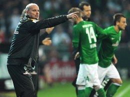 Werder-Trainer Thomas Schaaf