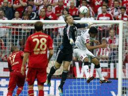 Manuel Neuer gegen Igor de Camargo