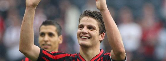 Will auch in München Plan A anwenden: Eintracht-Kapitän Pirmin Schwegler.