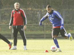 HSV-Coach Fink und Aogo