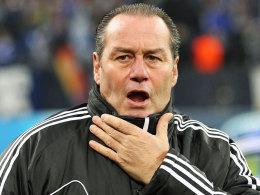 Schalkes Trainer Huub Stevens