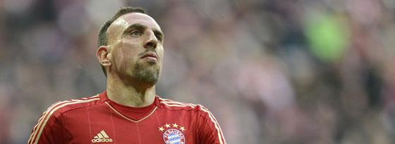 Stark wie nie: Franck Ribery.