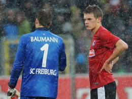 Oliver Baumann und Matthias Ginter