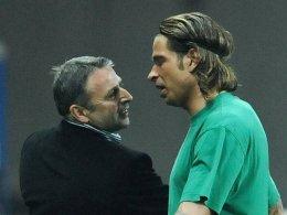 Es war einmal in Bremen: Am Sonntag treffen sich Klaus Allofs mit Wolfsburg und Tim Wiese mit Hoffenheim wieder.