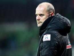 Lehnt eine Vertragsverlängerung ab: Werder Bremens Trainer Thomas Schaaf.