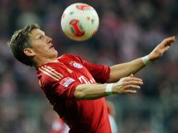Ist am Samstag gegen Dortmund wieder dabei: Bayern Münchens Taktgeber Bastian Schweinsteiger.